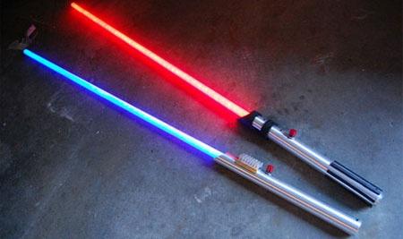 How-To: Sable laser casero por menos de un Euro
