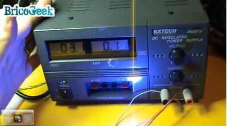 Fuente de alimentación Extech con conector Europeo