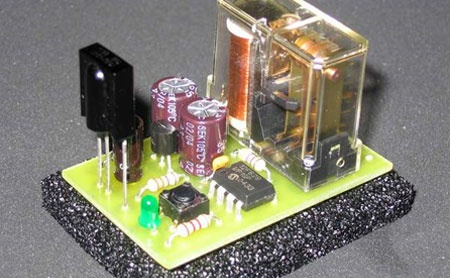 (DIY) Iterruptor digital multiuso por infrarojos y PIC12F629