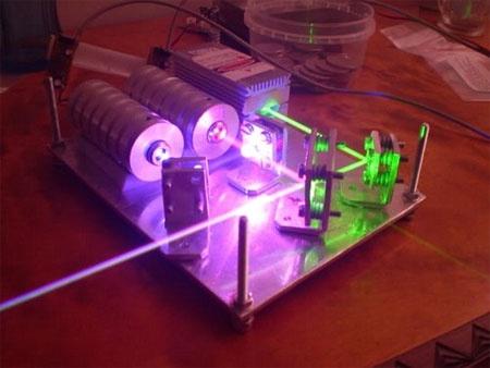DIY Laser RGV casero