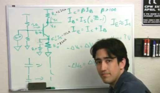 (Video) Amplificación de sonidos con transistor NPN