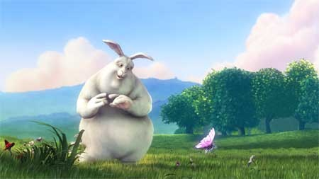 (Video HD) Pelicula Big buck Bunny con software libre