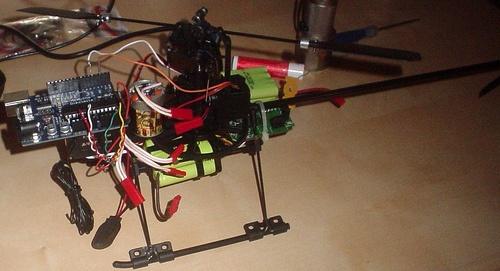 (Video) Arducopter: Estabilizador para helicoptero RC