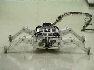 (Video) Roller-Walker: El robot sobre patines