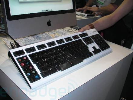 (Video) CES 2008: Detalles y software del teclado Optimus
