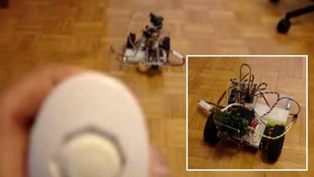 (Video) Robot controlado con Wii Nunchuck y Arduino