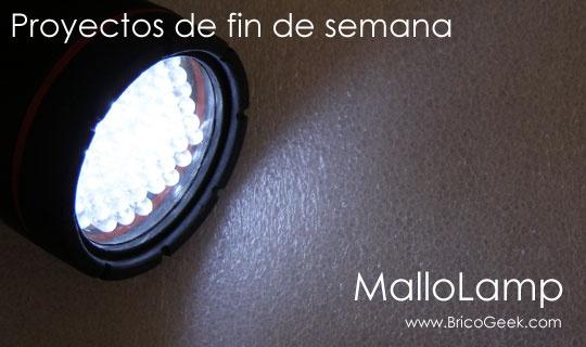 (Tutorial) MalloLamp: Cambiar bombilla de lámpara por LED's