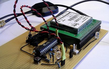 GSM/GPS Tracker con AVR y módulo Telit GM862-GPS
