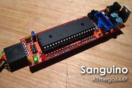 (Video) Sanguino: Arduino con ATmega644P