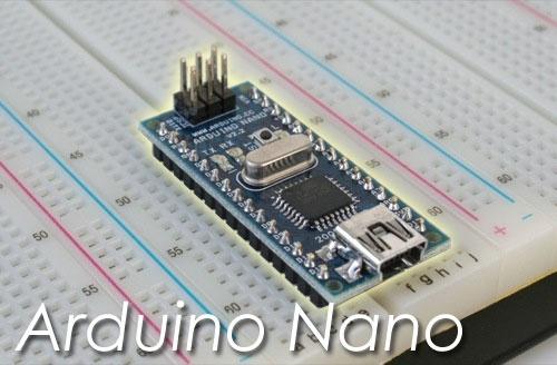 Arduino Nano disponible en la tienda