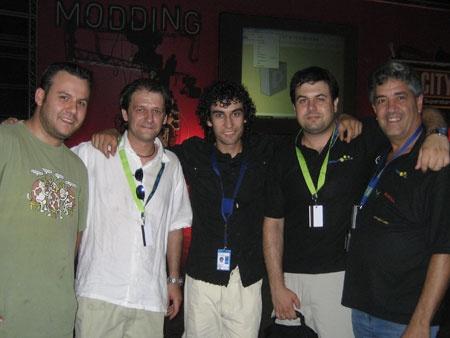 La elite española del Modding en la Campus Party 2007