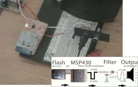 (Video) Cómo reproducir sonidos reales en un MSP430