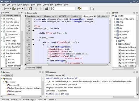 Ya se puede descargar Anjuta DevStudio versión estable