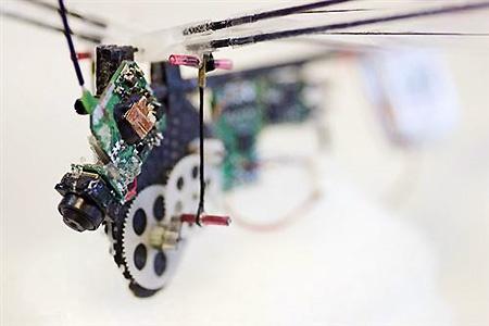 (Video) DelFly 2: El micro-robot libélula espía