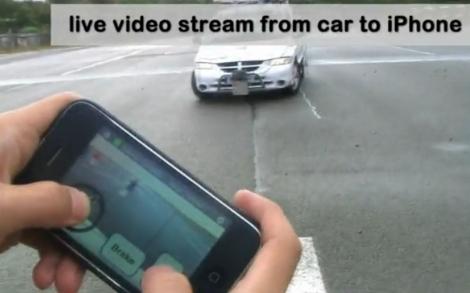 Control remoto de coche con iPhone