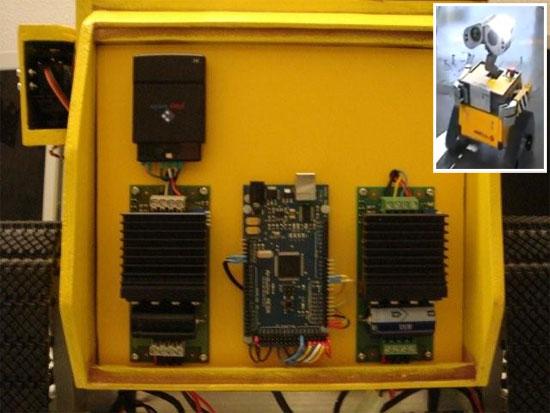 Video robot wall e casero basado en arduino mega