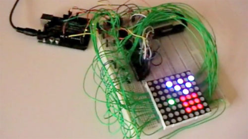 Cómo controlar una matriz de LED RGB con arduino