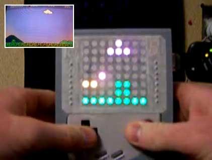 LEDboy: Mario Bros con una matriz de LED