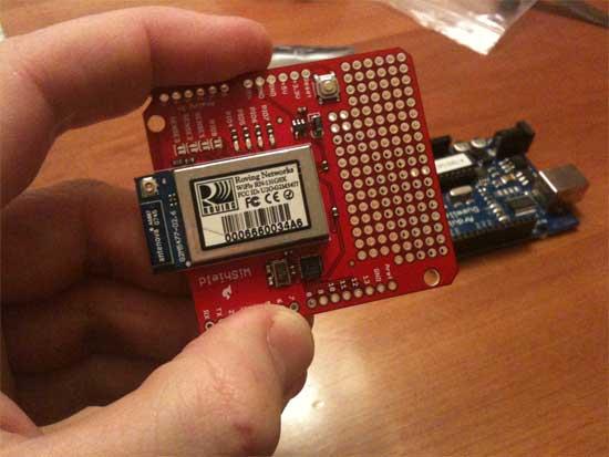 Cómo configurar WiFly shield con Arduino