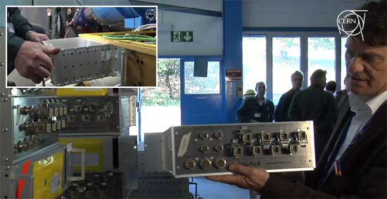 El CERN desarrolla el QPS para proteger el LHC