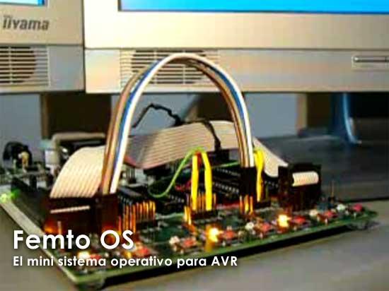 Femto OS: El mini sistema operativo para AVR