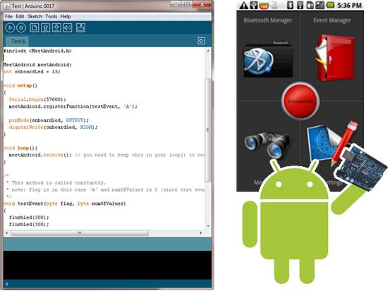 Amarino: Cómo utilizar Arduino con Android