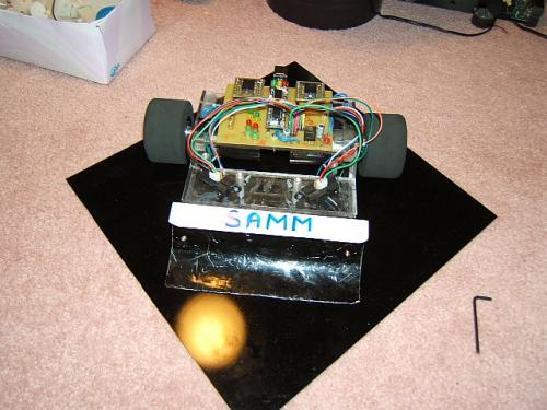 Samm: El robot sumo