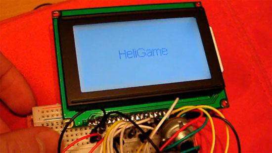HeliGame: Juego con Arduino y pantalla LCD