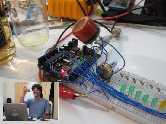 Sensor de alcohol MQ-3 con Arduino