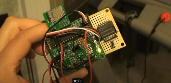 Medidor de pulso de corazón con RMCM01 y AVR