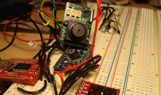 Capturando imágenes con cámara JPEG y Arduino