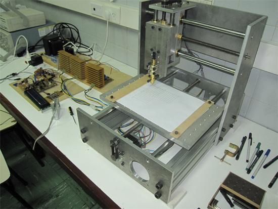CNC casera con intéprete de G-Code mediante ARM