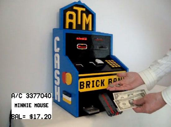Cajero automático con LEGO