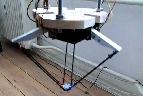 Robot Delta casero con Arduino