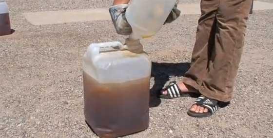 Cómo hacer biodiesel casero en 5 minutos