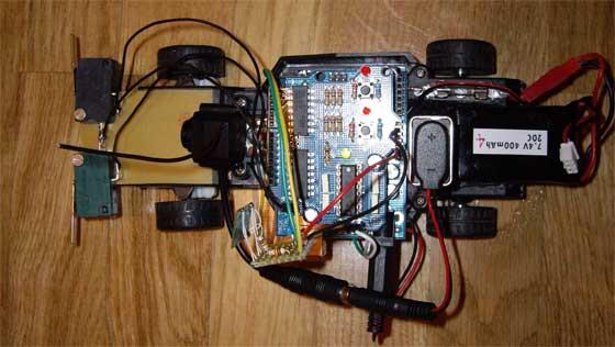 Robot casero con Arduino y Bluetooth