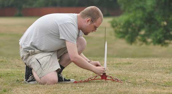Lanzador de misiles casero con Arduino