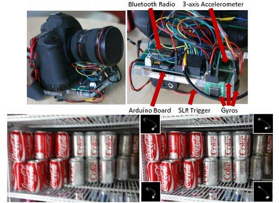 Corrigiendo fotos movidas con Arduino