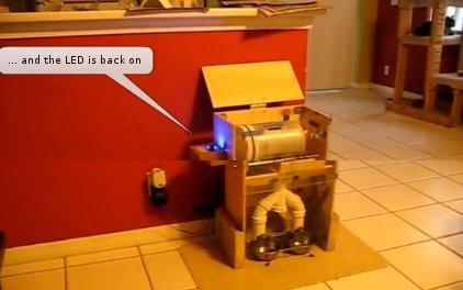 Dispensador de comida para gatos con Arduino
