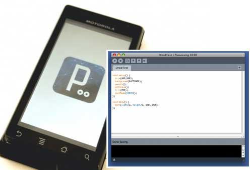 Cómo programar para Android con Processing