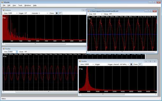 XOscillo transforma tu PC en osciloscópio con Arduino