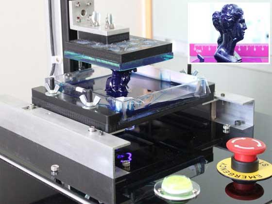 Impresora 3D casera de alta resolución