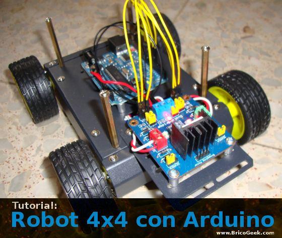 Tutorial robot con arduino bricogeek