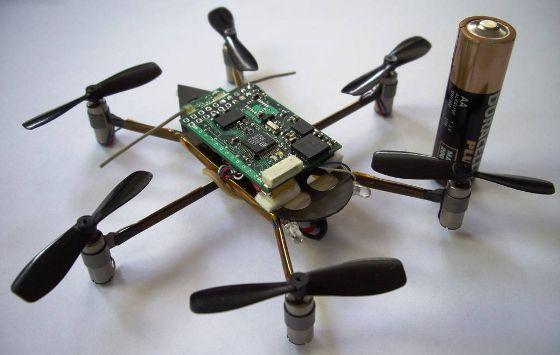 Mini Hexacopter casero de 40 gramos