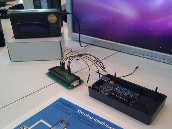 Máquina de vending con Arduino y PayPal