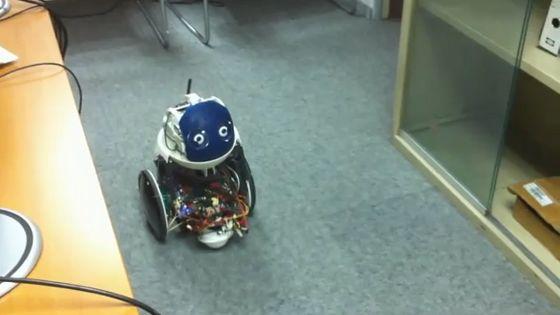 El robot QBO hace grandes progresos utilizando SLAM