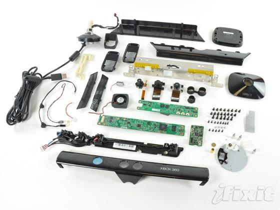 Desmantelando Microsoft Kinect