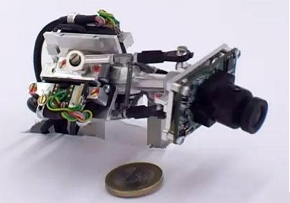 Cámara robótica que imita el ojo humano