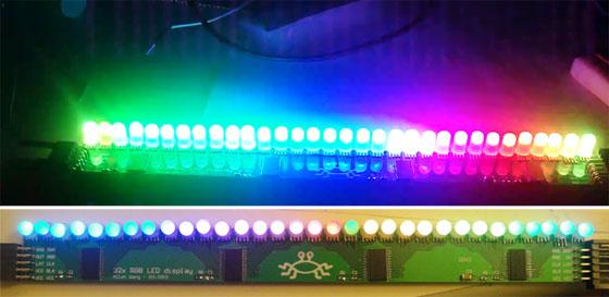 TLC5947: Driver de LED con 24 salidas