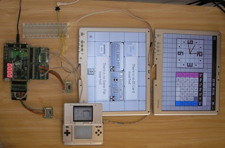 (Video) Jumbotron Nintendo DS con dos pantallas de tablet PC